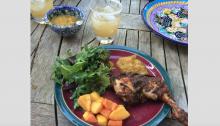 Great Summer Recipes: Jerk Chicken with Banana Mango Ketchup
