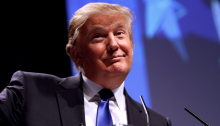 Donald Trump Laughs at Your Puny Human Horserace Coverage