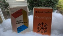 Against Everything by Mark Greif, and Mythologies by Roland Barthes